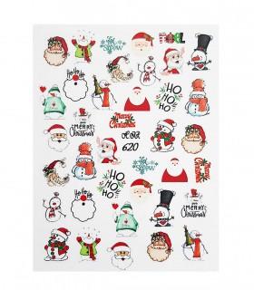 لنز ناخن مدل بابا نویل