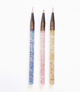 ست قلم طراحی 3 عددی رنگی