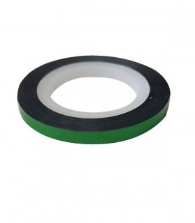 نوار طراحی متوسط ناخن سبز