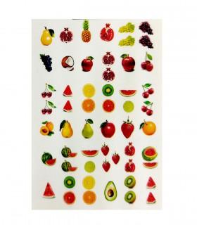 لنز ناخن مدل میوه 3