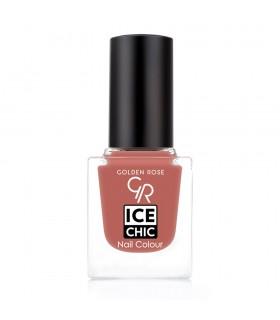 لاک ناخن گلدن رز مدل Ice Chic شماره 100