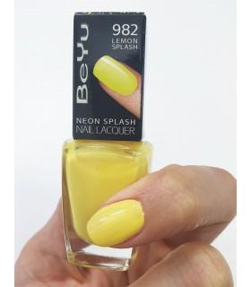 لاک ناخن بی يو مدل Neon Splash شماره 982 1