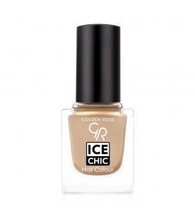 لاک ناخن گلدن رز مدل Ice Chic شماره 61