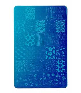 شابلون فلزی ناخن بزرگ شماره XiuYa Nails 14 بی دست