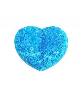 کوکتل مانیکور قلبی آبی
