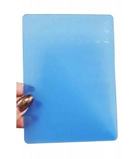 شابلون پلاستیکی ناخن متوسط شماره F01 با دست