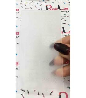 شابلون پلاستیکی ناخن شماره KD002 با دست