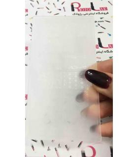 شابلون پلاستیکی ناخن شماره KD003 با دست