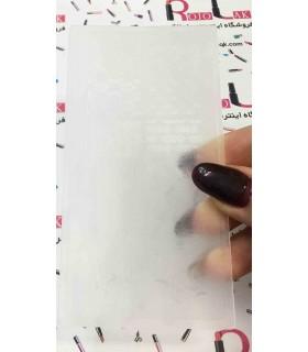 شابلون پلاستیکی ناخن شماره KD005 با دست