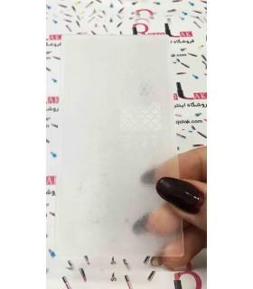 شابلون پلاستیکی ناخن شماره KD010 با دست