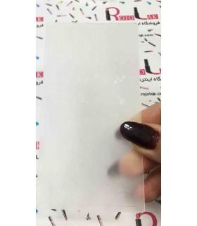 شابلون پلاستیکی ناخن شماره KD040 با دست