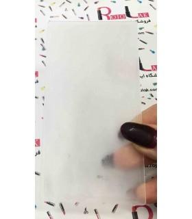 شابلون پلاستیکی ناخن شماره KD032 با دست