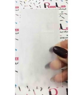 شابلون پلاستیکی ناخن شماره KD001 با دست