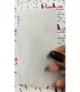 شابلون پلاستیکی ناخن شماره KD044 با دست