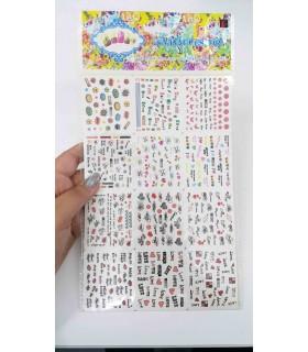 لنز سه بعدی ناخن شماره A541 با دست