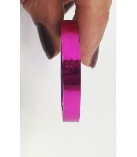 نوار طراحی ناخن پهن سرخابی با دست