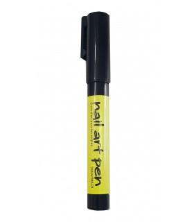 ماژیک طراحی ناخن زرد