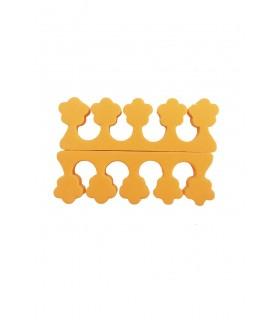 پد جداکننده انگشتان پا رنگ نارنجی