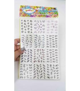 لنز سه بعدی ناخن A457 با دست
