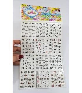 لنز سه بعدی ناخن شماره A505 با دست