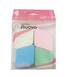 پد آرایشی ۴عددی Nuovo
