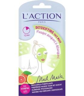 خرید ماسک صورت پاکسازی آلودگی های سطح پوست لکسیون 15 گرمی