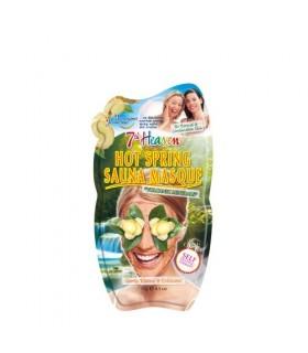 خرید ماسک صورت حرارتی حاوی خاک آتشفشان مونته ژنه مدل 7th heaven حجم 15 گرم