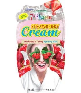 خرید ماسک صورت توت فرنگی مونته ژنه مدل 7th heaven حجم 15 میلی لیتر