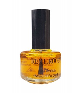 لاک ناخن آبرنگی Remi Roos  رنگ زرد