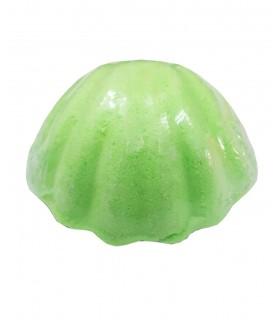 کوکتل پدیکور صدفی سبز