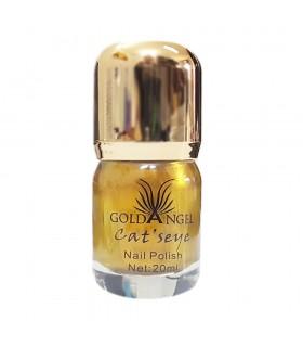ناخن مغناطیسی-چشم گربه ای گلدآنجل Goldangel شماره 5