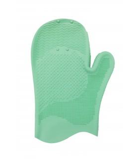 لیف دستکشی لایه بردار سبز