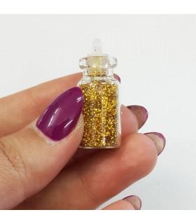 دیزاین شوگر ناخن اکلیلی طلایی دست