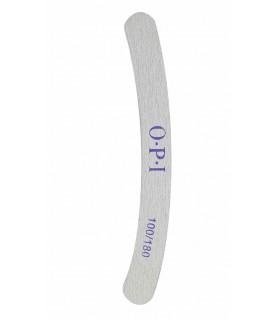 سوهان ناخن کاغذی OPI مدل دوطرفه 100/180 هلالی