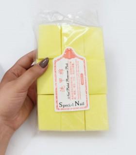 پد کلینزر ناخن 1000عددی زرد SPECIAL NAIL