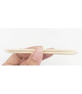 عقب زن یا پوشر چوبی کوچک ناخن (دو عدد)  انگشت