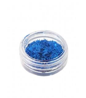 لمه ناخن رنگ آبی کاربنی