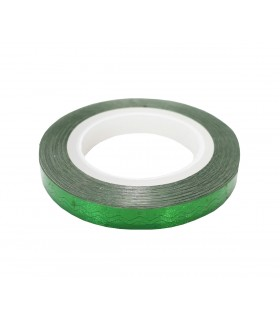 نوار طراحی ناخن پهن زیگزاگ سبز