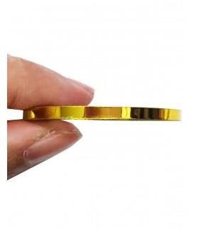 نوار طراحی ناخن متوسط طلایی 1