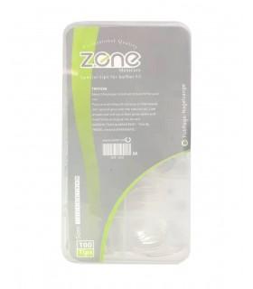 ناخن مصنوعی ۱۰۰ عددی Z.one مدل نوک تیز شیشه ای