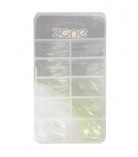 ناخن مصنوعی ۱۰۰ عددی Z.one مدل نوک تیز شیشه ای پشت