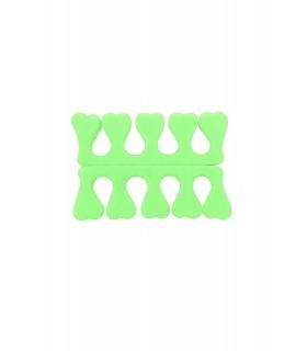 پد جداکننده انگشتان پا قلب سبز