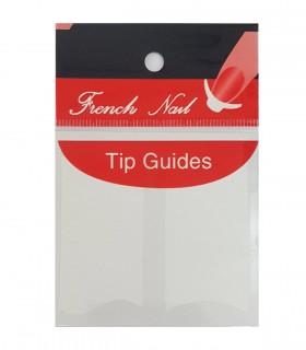برچسب فرنچ ناخن Tip Guide مدل موج دار
