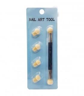 قلم آمبره طراحی ناخن مشکی